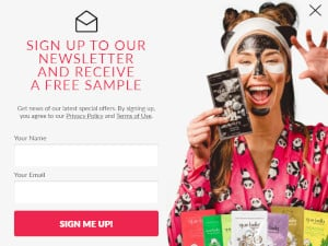 FREE Que Bella Beauty Face Mask Sample