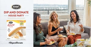 FREE Nonnis Dip and Donate Party Pack