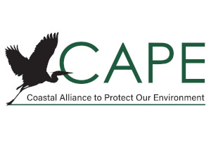 FREE Coastal Alliance to Protect our Environment Sticker