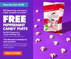 FREE Peppermint Candy Puffs