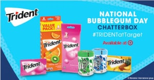 Trident National Bubblegum Day at Target