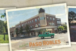 4 FREE Paso Robles Postcards