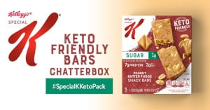FREE Special K Keto Friendly Bars Chat Pack
