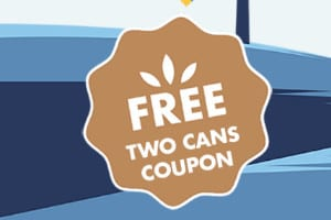 2 FREE Cans of Natures Logic Cat Food