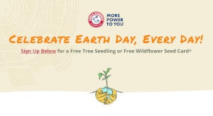 Earth Day FREE Seedling