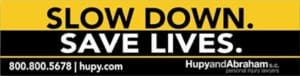 FREE Slow Down. Save Lives Stickers