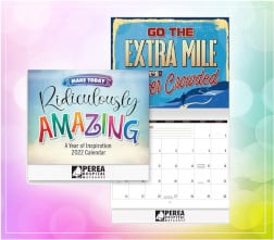 FREE Positive Promotions Ridiculously Amazing Wall Calendar