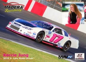 FREE Kercie Jung Autographed Hero Card