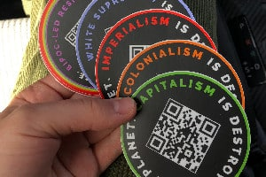 Capitalism is Destroying the Planet Sticker